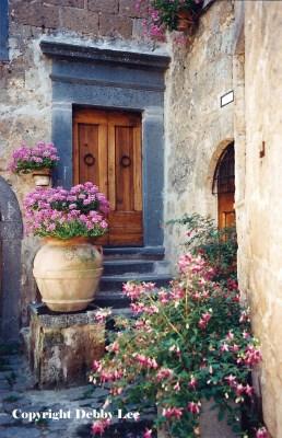 Civita di Bagnoregio Flowers 1