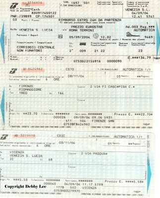 Italian Train Tickets