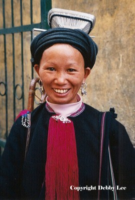 Black Dzao Woman Vietnam