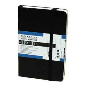 review moleskine city notebook seattle the flying salmon. Black Bedroom Furniture Sets. Home Design Ideas