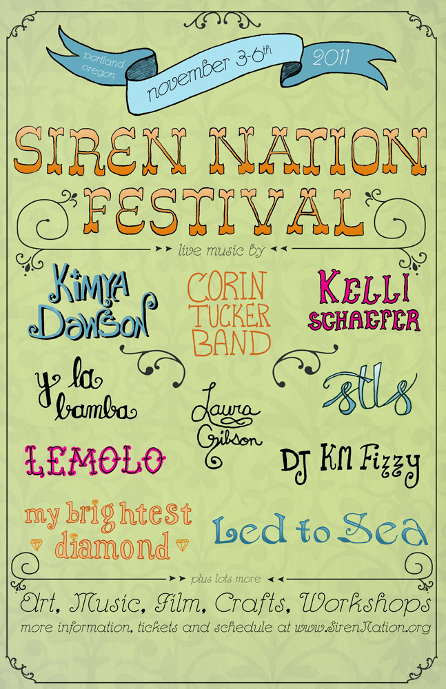 Lady in Rock: Siren Nation Festival