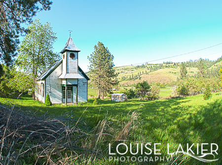 Church, Historical Building, Stites, Idaho, The Clearwater Valley, Old Buildings, White, Valleys
