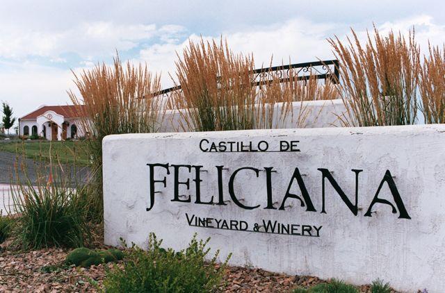 Castillo de Feliciana Sign