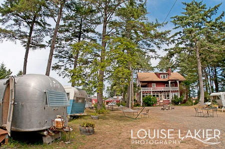 The Sou'wester, Seaview, Washington, Beach Town, Vintage Travel Trailers, Cabins, Getaways, Campgrounds, RV Park. Lodge, Henry Corbett