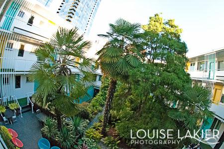 Boutique Hotels, Courtyard, Vancouver, VCMBC, British Columbia, Road Trip