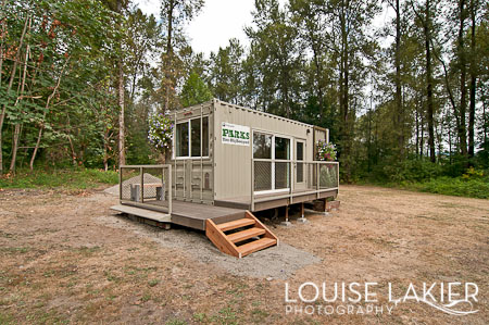 Shipping Container Cabin, Tolt MacDonald Park, Washington, Seattle, Snoqualmie Valley, King County Parks, Green Tools