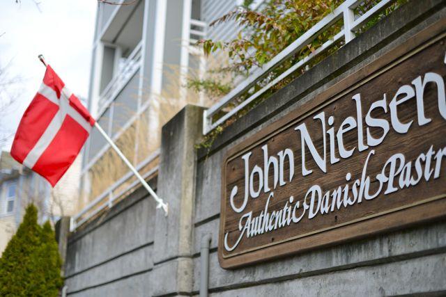 Nielsen's Authentic Danish Pastry Exterior