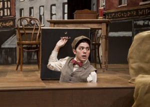 Brad Walker as Barnaby Tucker in The Matchmaker at Taproot Theatre.
