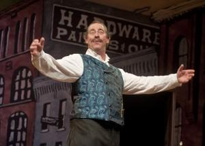 Robert Gallaher as Horace Vandergelder in Thornton Wilder's The Matchmaker at Taproot Theatre.