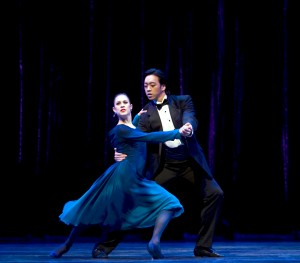 Rachel Foster with William Lin-Yee in Nine Sinatra Songs.