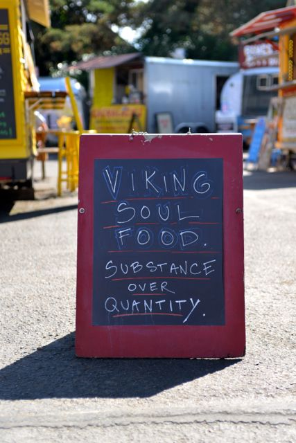 Viking Soul Food Substance over Quantity
