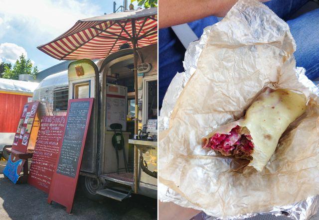 Viking Soul Food Truck and Food