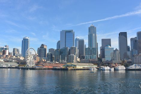 Seattle Photo Op: Seattle-to-Bainbridge Ferry