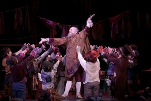 David Pichette as Fagin in 5th Avenue Oliver!