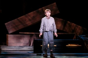 Jack Fleischmann as Oliver Twist at 5th Avenue.