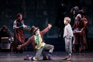 Grayson Smith is the Artful Dodger in 5th Avenue's Oliver!