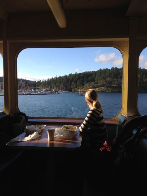 Departing Friday Harbor