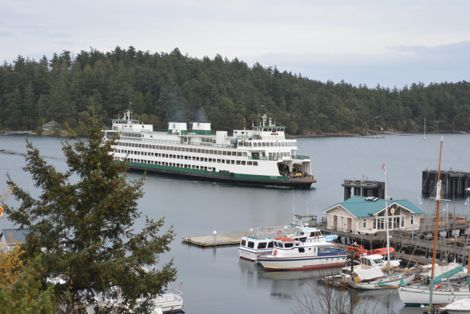 Friday Harbor Ferry Docking