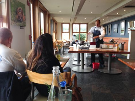 Friday Harbor House Cooking Class