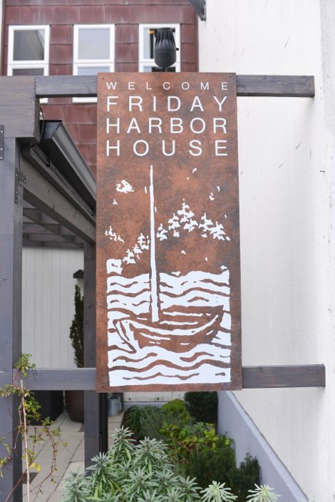 Friday Harbor House Sign
