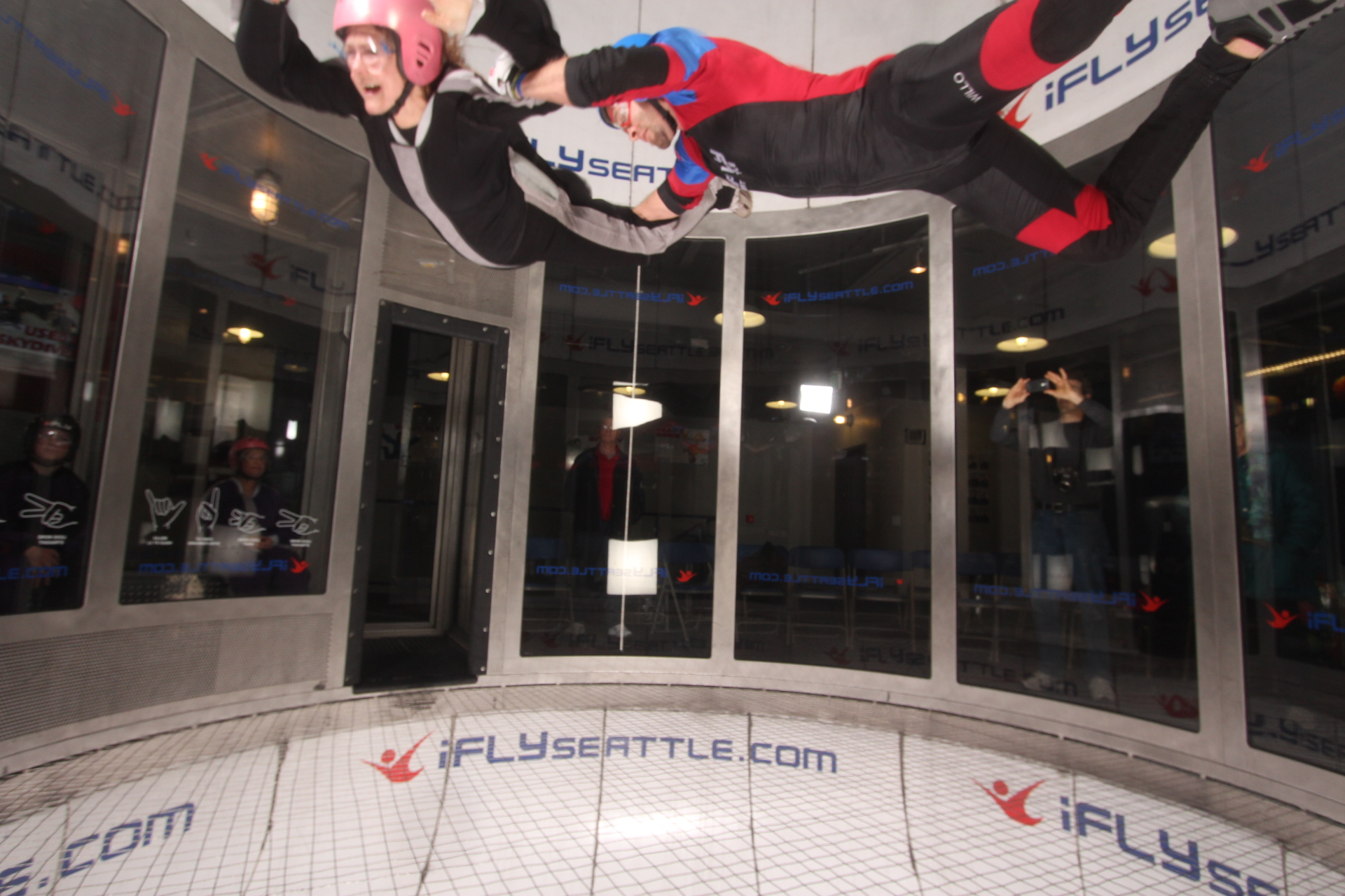 I believe I can fly — at iFly Seattle!