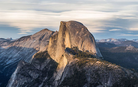 Half Dome Yosemite National Park is one of the most popular hiking spots in California