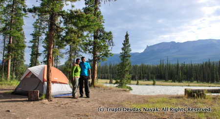 Camping Reservations are a must for Jasper National Park