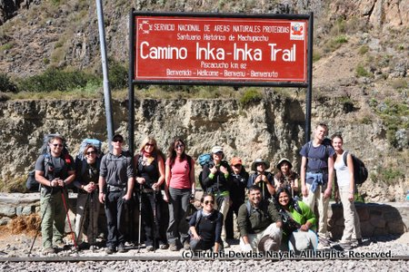 Peru Treks Group Start of Inca Trail Hike