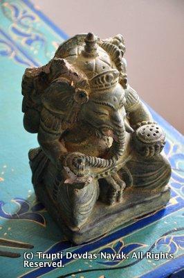 Blue Osa Ganesha