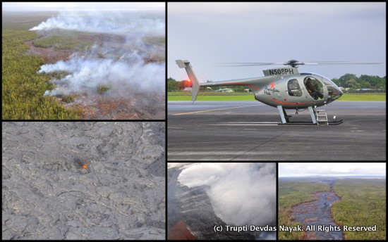 Helicopter Lava Tour Volcano Big Island