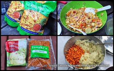 Indian food Best for Camping