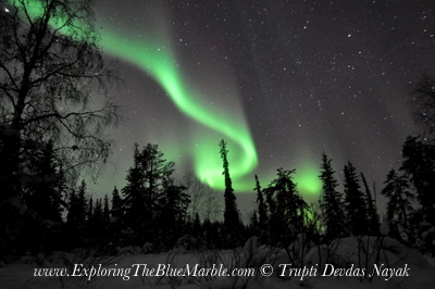 Northern Lights Yellowknife Trupti