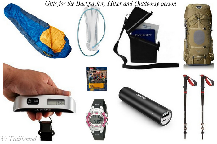 Holiday gifts for the backpacker and hiker