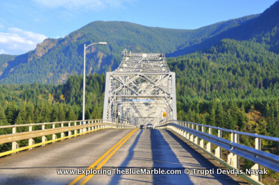 Bridge Of The Gods Oregon Washington