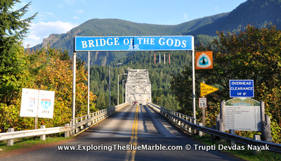 The Bridge of the Gods from the book Wild by Cheryl Strayed