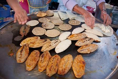 Tlacoyos Guanajuato Mexico