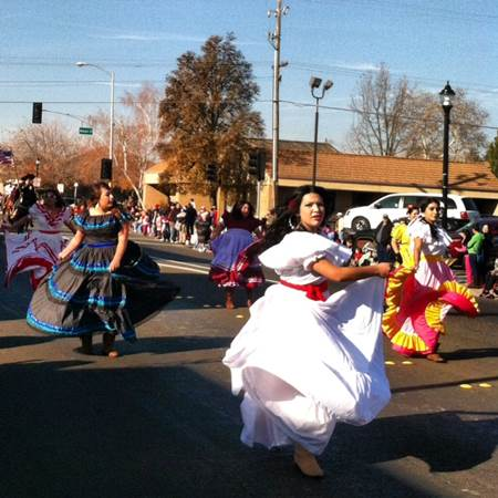 Noah Kameyer's Christmas Parade in Woodland, California