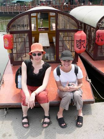 Alethea and Adena in Beijing