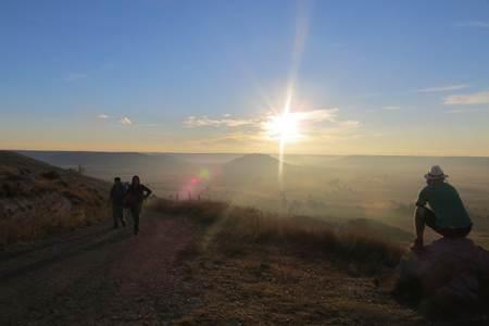 Sunrise on the Camino