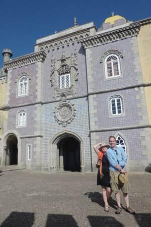 Brilliant sunny day at Pena National Palace