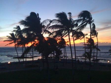 Sunset on the Big Island