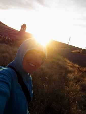 Sun Overhead Camino Spain