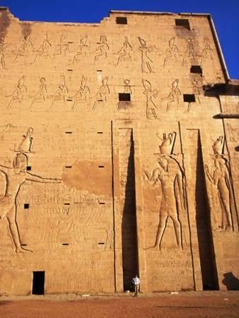 Grand Time at Edfu Temple Egypt
