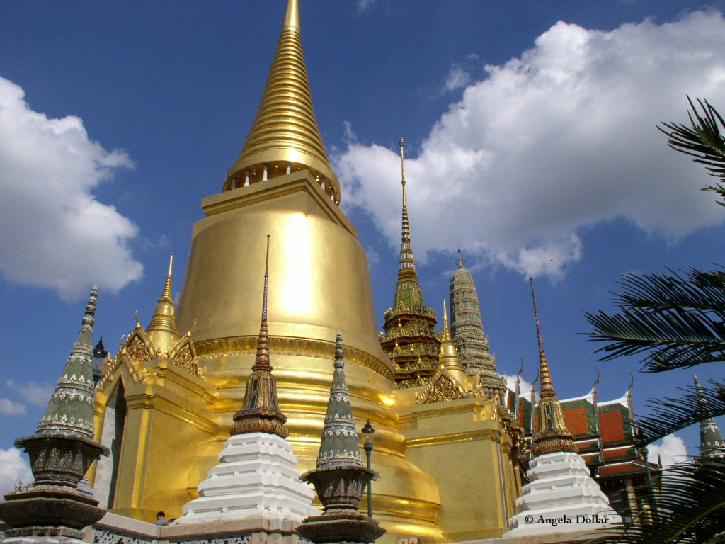 Stupa at Grand Palace, Bangkok