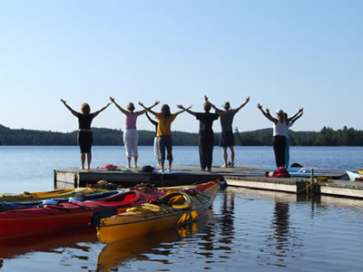 Quest for Balance – A Yoga and Kayak Retreat