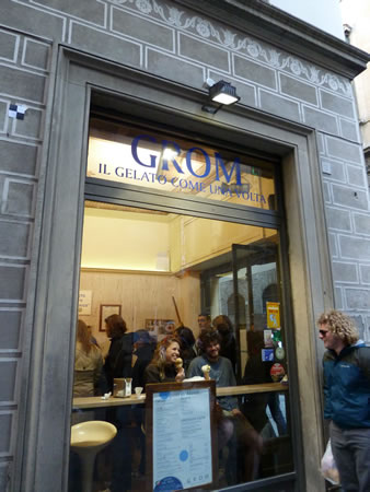 Local Flavor: Grom Gelato in Italy