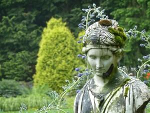 Mintner Gardens statue