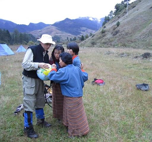 Cultural exchange in Bhutan