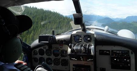 Pilot's view