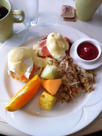 Rockwater salmon eggs benny